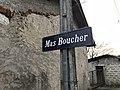 Panneau Mas Boucher à Mollon.JPG