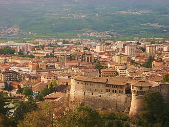 Rovereto - Image: Panoramarovereto 2