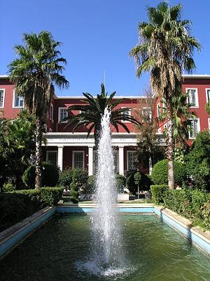 Panteion University - The first, historic building of Panteion University.