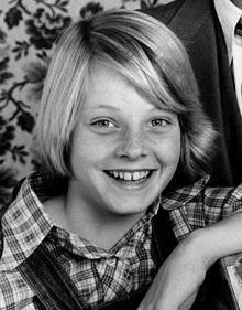 Jodie Foster nella serie televisiva Paper Moon (1974)