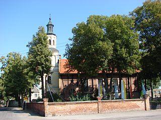 Parchanie Village in Kuyavian-Pomeranian, Poland