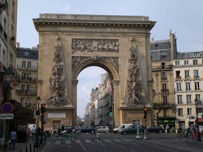 Fichier:Parigi, Porte St-Denis.jpg