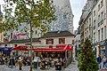 Paris, à la terrasse du café, place Saint-André-des-Art, 2020.jpg