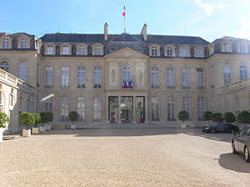 Paris - palais de l'Élysée - cour 02.JPG
