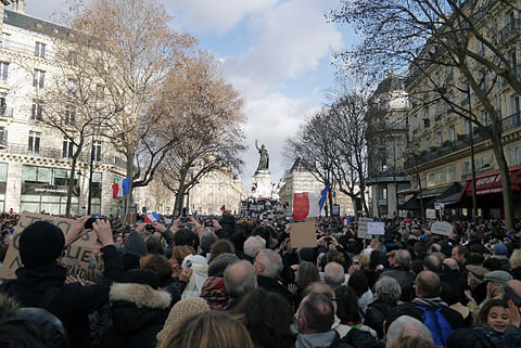 Paris Rally, 11 January 2015 - Monument à la République - 05.jpg