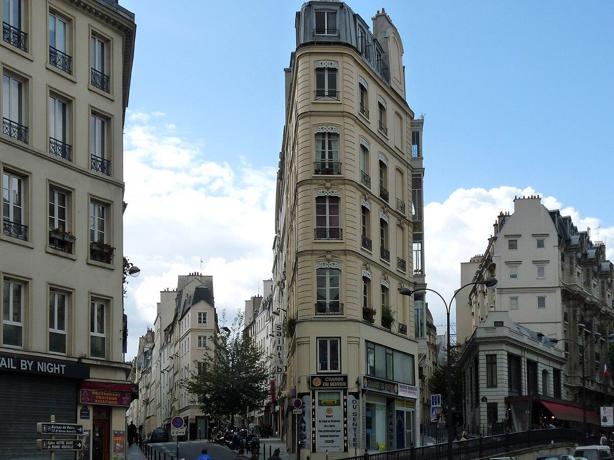Exceptionnel Quartier de Bonne-Nouvelle — Wikipédia SG23