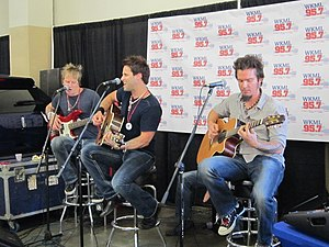 Parmalee - Image: Parmalee Cumberland County Fair 2012