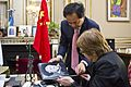 Parodi se reunió con el embajador de la República Popular China, Yang Wanming (14972595623).jpg