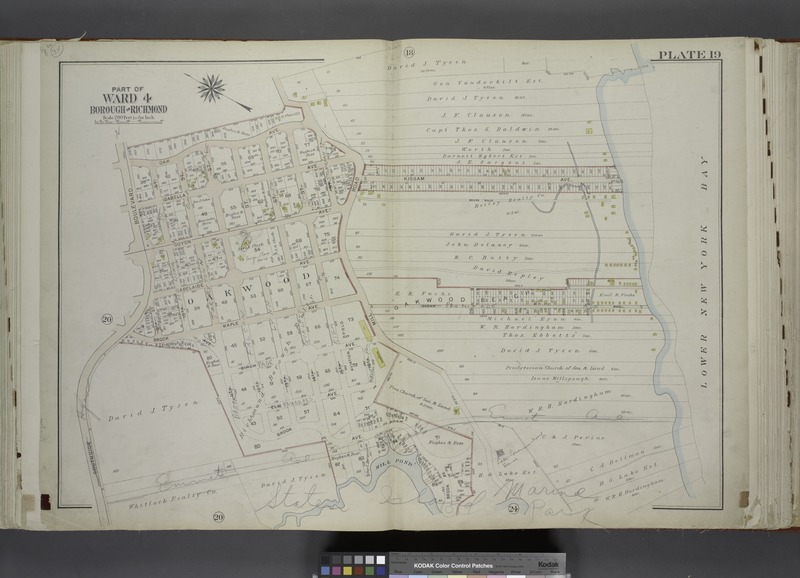 File:Part of Ward 4. (Map bound by Oak Ave, Mill Road, Kissam Ave, Lower New York Bay, Brook Ave, Mill Pond, South Side Boulevard) NYPL1646286.tiff