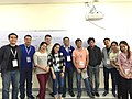 Participants to the Wikidata Workshop in FITCON 2018.jpg