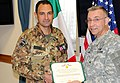 Patalano leaves U.S. Army Africa to command tank battalion (8115615294).jpg