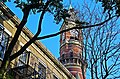 Patchin Place view of the Jefferson Market Courthouse Clock Tower.jpg