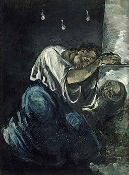 Paul Cézanne - The Magdalen, or Sorrow
