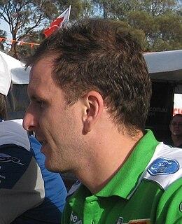 Paul Dumbrell Australian racing driver