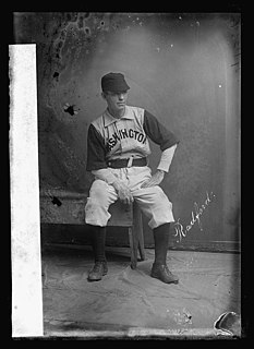 Paul Radford American baseball player