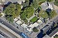 Pavilonok a Szent Imre téren, légi felvétel.jpg