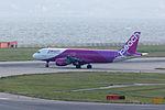 Peach Aviation, MM27, Airbus A320-214, JA805P, Departed to Taipei, Kansai Airport (17001853409).jpg