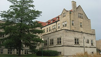 Pemberton Hall (Eastern Illinois University) - Northern side and front