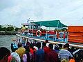 People boarding for ferry ride to elephanta caves 2017.jpg