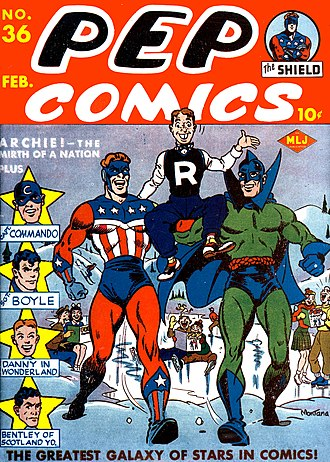 Archie Comics - Image: Pep Comics 36a