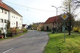 Altheimer Straße in Gersheim