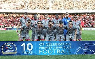 Al-Duhail SC - Al-Duhail's squad in the 2018 AFC Champions League against Persepolis.