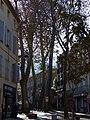 Perspective du Boulevard Jean-Jaurès depuis la placette de l'Hommage aux peintres.jpg