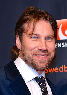 Peter Forsberg Swedish ice hockey player