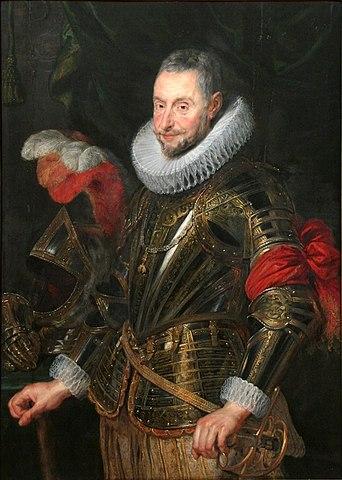 Портрет герцога Амброджо Спинола. 1627, масло на дубе, 117×85см. Национальная галерея в Праге