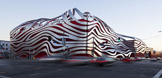Petersen Automotive Museum - Northwestern elevation, 2015