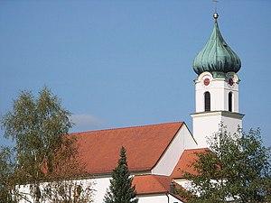 Ruderting - Image: Pfarrkirche Ruderting