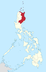 Map of the Philippines highlighting Cagayan Valley