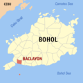 Ph locator bohol baclayon.png