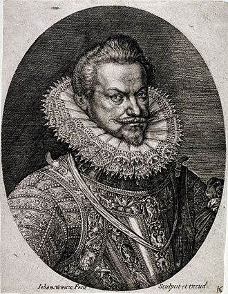 Wierix family - Philip William of Orange, by Johannes Wierix