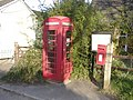 Phone Box and Letter Box, Newtown. - geograph.org.uk - 406302.jpg