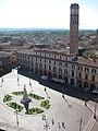 Piazza Saffi dal campanile di San Mercuriale.JPG