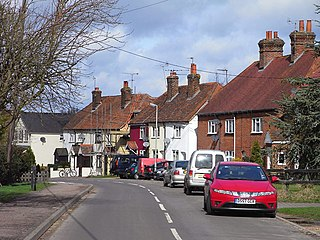 Beenham village in the United Kingdom