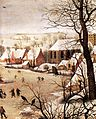 Pieter Bruegel the Elder - Winter Landscape with Skaters and a Bird Trap (detail) - WGA03334.jpg