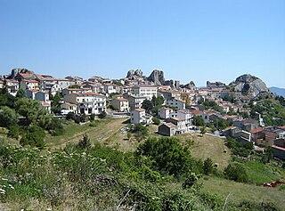 Pietrabbondante Comune in Molise, Italy