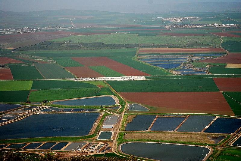 נופים בישראל - נוף מהגלבוע