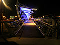 PikiWiki Israel 36690 Beersheba tubes Bridge at night.JPG