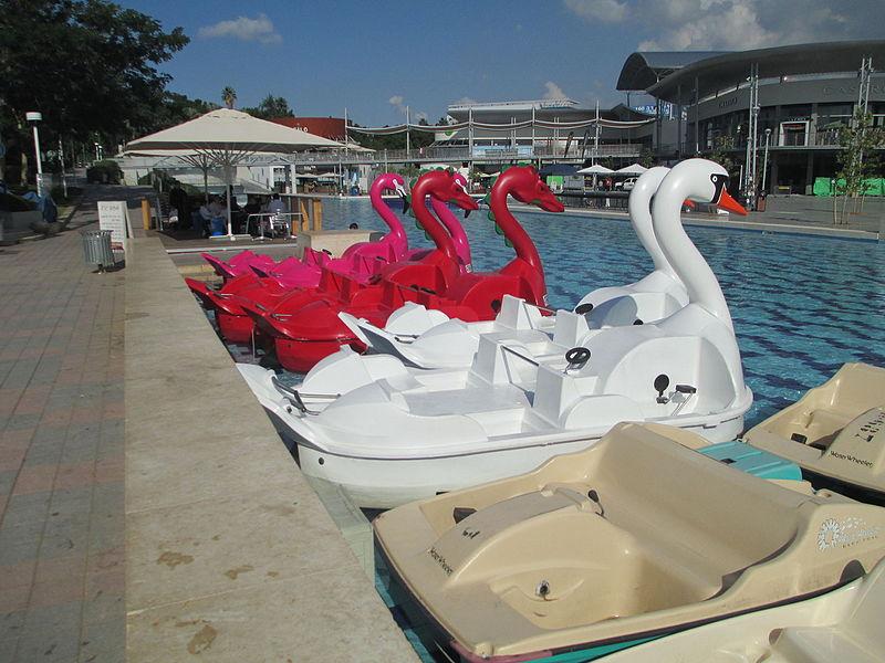 סירות בפארק פרס