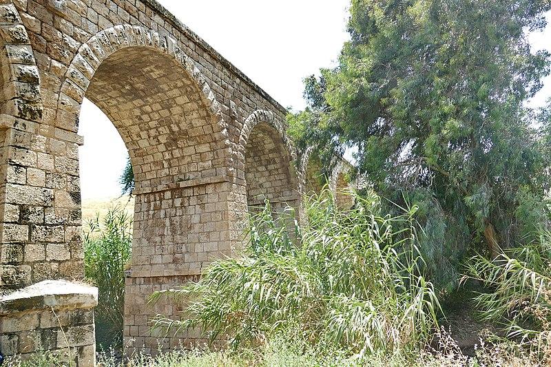 גשר חמש קשתות על נחל תבור