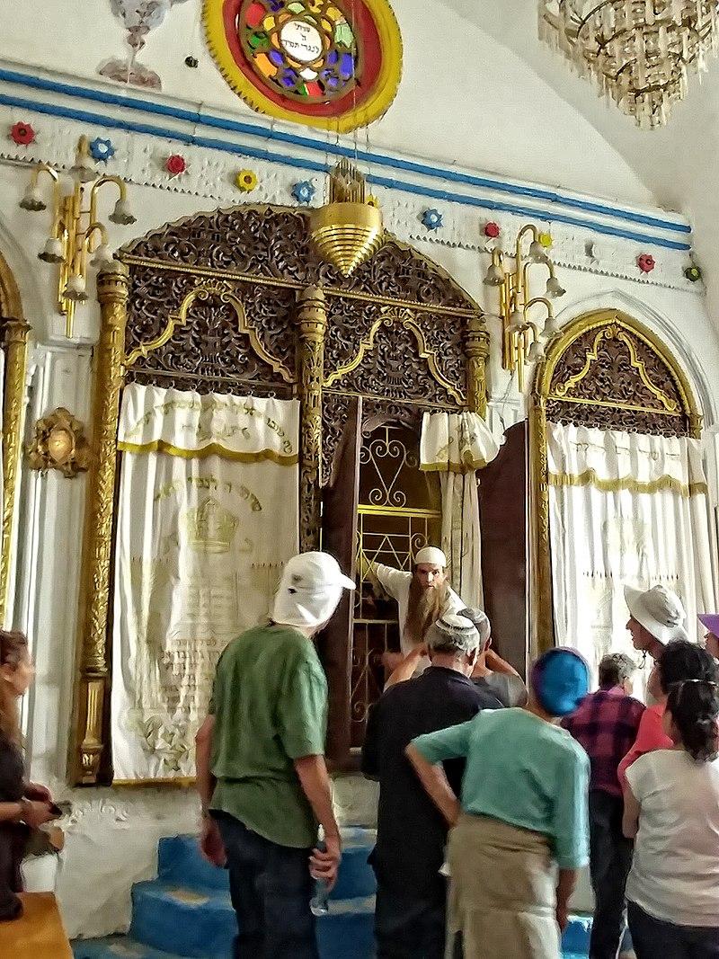 צפת העתיקה בית הכנסת הארי הספרדי