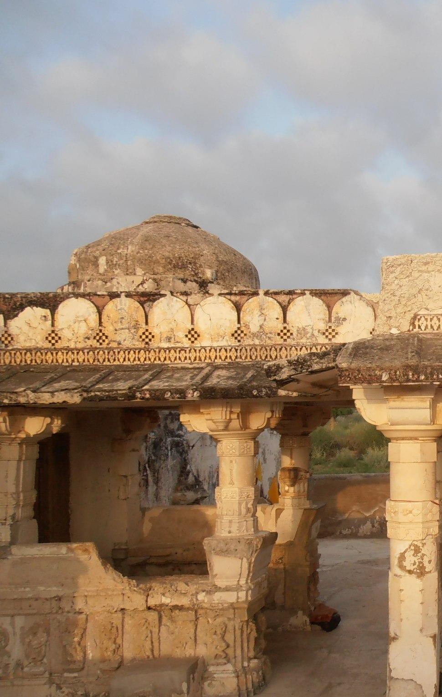 Pillars and Roof designs of Goddi Temple