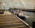 Pilot boat docked near the phosphate elevator- Boca Grande, Florida (8935921632).jpg