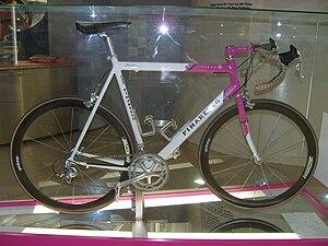Pinarello - Jan Ullrich's 1997 Tour de France winning Paris FP