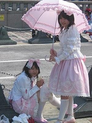 Sweet Lolitas em Harajuku