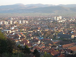 Panoramic view on Pirot