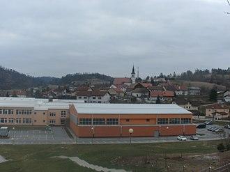 Municipality of Pivka - Image: Pivka wiew